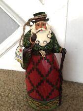 Jim Shore Irish Santa Heartwood Creek Christmas Figurine 4017647 New Box Flawed