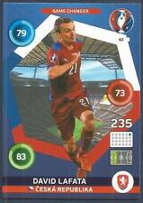 PANINI EURO 2016 ADRENALYN XL CARD- #062-CZECH REP-GAME CHANGER-DAVID LAFATA
