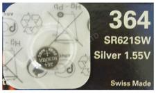 Genuine Renata 364 SR621SW Silver Oxide Watch Battery 1.55v [1-Pack]