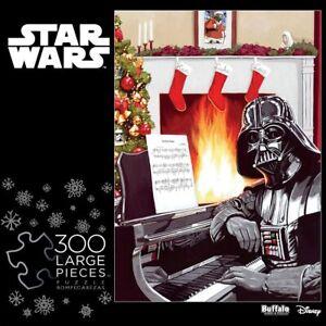 Star Wars A Very Vader Christmas 300 Large Piece Jigsaw Puzzle Darth Santa Hat