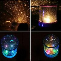 Romantic Colourful Cosmos Star Master LED Projector Lamp Night Light Gift