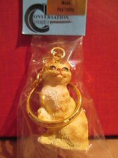 manx red cat key chain great gift
