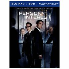 Person of Interest: The Complete Second Series (Blu-ray/DVD, 2013, 10-Disc Set,