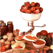 Weston Roma Stainless Steel Food Tomato, Vegetable, Fruit Strainer & Sauce Maker