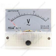 1×AC15V Analog Panel Volt Voltage Meter Voltmeter Gauge 85L1 AC0-15V