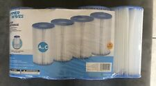 New listing 4 Pack Swimming Pool Filter Cartridge Type A Or C Summer Waves New *Ship 00004000 S Today*