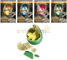 4 Hatching Dinosaur Eggs - Kids Magic Growing Pet Party Bag Filler Game Prize