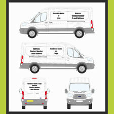 EXTRA LARGE CUSTOM VAN GRAPHIC SIGN WRITTING VAN DECALS CUSTOM LETTERING