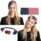 2 Pcs 4th of July Celebration Patriotic Accessories Including US American