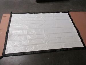 6x4 foot Da Lite front projection fastfold screen KIT (G15)