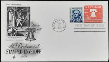 USA 1969, 1.6c Embossed Stamped Envelope FDC First Day Cover #C49314