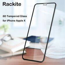 6D Anti-scratch Full Coverage Tempered Glass Screen Protector for Apple iPhone X