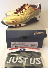 Asics Gel Lite 3 World Cup Olympic Blue Yellow Gold Kith Sneakers Men's Size 12
