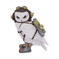NEMESIS NOW - THE AVIATOR - STEAMPUNK OWL 21cm FIGURINE ORNAMENT