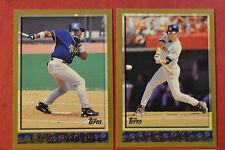 1998 Topps San Diego Padres Team Set (12 cards) Tony Gwynn, Hoffman & Joyner