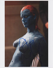 REBECCA ROMIJN Signed 10x8 Photo MYSTIQUE In X-MEN COA