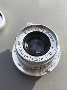 LEICA LEITZ SUMMARON 35mm F3.5 M39