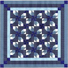 Quilt Kit/Maze 3D/Pre-cut Fabric Ready to Sew/EXPEDITED SHIP