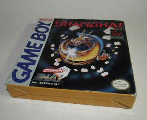Shanghai Gameboy Near Complete CIB Game Boy Game Good Shape **READ**