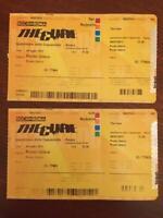 """Numero 2 - BIGLIETTO CONCERTO """"THE CURE"""" - Roma Capannelle 9 Luglio 2012"""