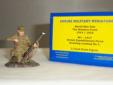 EMPIRE W1-1417 BRITISH EXPEDITIONARY FORCE KNEELING LOADING METAL TOY SOLDIER