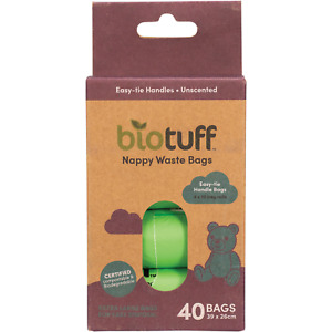 BIOTUFF Nappy Waste Bags Refill
