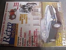 µ? Revue Retro Hebdo n°2 Volvo P18000 ES BMW R50 Field Marshall Circuit Reims 47