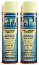 2pk Instant Fresh Linen Armchem Dry Aerosol Air Freshener Deodorizer Voc Compl.