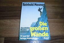 REINHOLD MESSNER -- die GROßEN WÄNDE // Geschichte+Routen / Eiger-Nordpfeiler