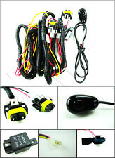 H11 H8 896 881 Fog Light Harness w/Universal Switch, Relay, Wire, & Connectors