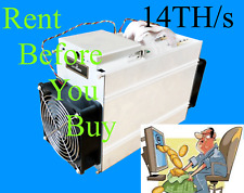 Bitcoin Mining Contract 1Hr 14TH (14,000GH) SHA256 S9i Antminer Buy1 Or Buy1000