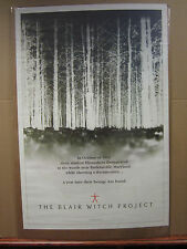 Vintage 1999 The Blair Witch Project movie poster Missing people 4626