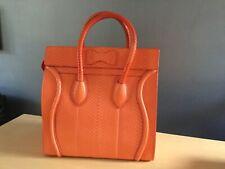 Celine Luggage Bag in Orange