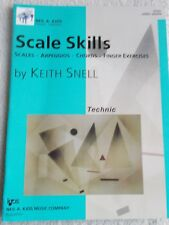 Snell Scale Skills Technic Piano L7 Exercises More New