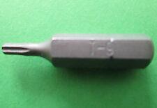 TORX SCREWDRIVER BIT T9 - T 45 FREE UK POSTAGE