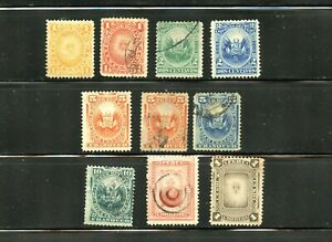 LOT 92090 USED / UNUSED / MINT H 104 / 115 : STAMPS FROM PERU