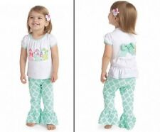 Mud Pie Easter Bunny Tunic and Legging Set 0-6 Months