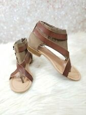 MAURICES GLADIATOR SANDALS SIZE 7