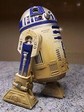 1998 Star Wars 6 pulgadas R2D2 1/6 escala 12 pulgadas figura Dagobah electrónica no funciona