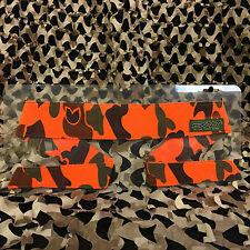 NEW Exalt Paintball Camouflage Padded Headband Head Band - Blaze Orange Woodland