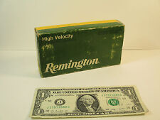 Vintage Remington Empty Ammo Box, Core-Lokt 308 Winchester 189 Grain SP 1980
