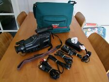 SANYO VM-D66P 8MM CAMCORDER  WITH LEADS AND BAG.