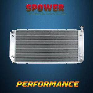AT 55mm For Chevrolet GMC C1500 2500 K1500 R25 88-99 V8 3Row Aluminum Radiator