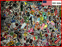 900 New Random Skateboard Stickers bomb Laptop Luggage Decals Dope Sticker Lot