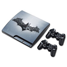 For Playstation 3 Slim PS3 Slim Superman Batman Vinyl Decal Skin Sticker Console
