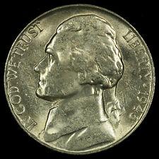Jefferson Nickel, 1946 S Gem BU MS PQ. Lot # 096