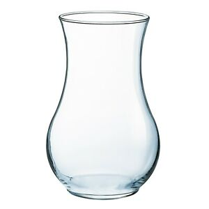 Luminarc Oxygen Transparent Glass Flower Vase Decoration Home Wedding Decor NEW