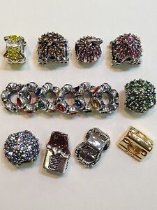 """100% Authentic Sterling Ohm Beads """"Pick Your Choice"""" Over 10 Different Charms"""