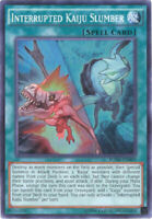 Yu-Gi-Oh Card - BOSH-EN089 - INTERRUPTED KAIJU SLUMBER (super rare holo) - NM/M