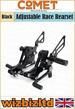 Comet Black Adjustable Rearset Ducati Monster 796  RSDU04BK